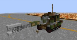 Artillery AMX-AuF1 / French Army Minecraft Map & Project
