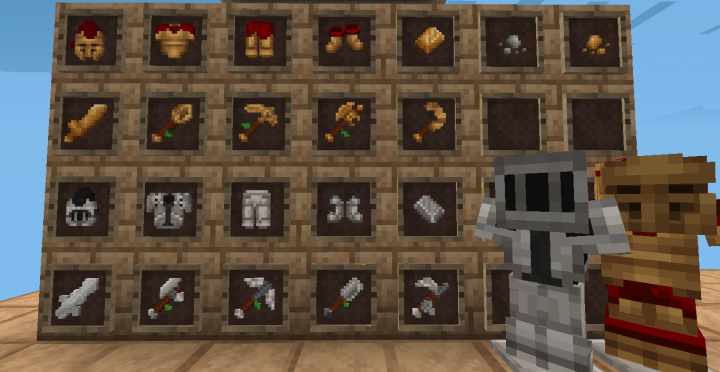 Leather and Diamond Tools - Leather and Diamond Armor