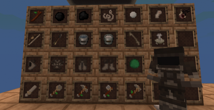 Stone Tools - Chainmail Armor - Any Items
