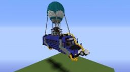 Fortnite bus Minecraft