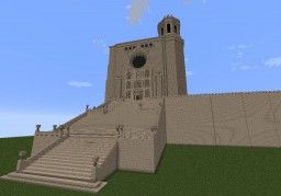 Girona's Cathedral Minecraft Map & Project