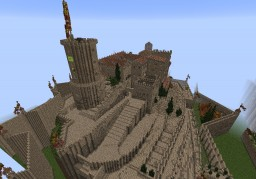 CARDONA MEDIEVAL FORTRESS / CASTLE IN CATALONIA Minecraft Map & Project