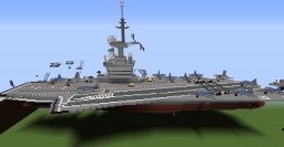 Charles De Gaule Aircraft-Carrier /French-Army Minecraft Map & Project