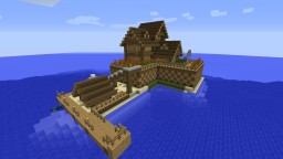 Island Mansion Minecraft Map & Project