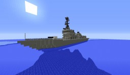 USS Howard - DDG83 Minecraft Map & Project