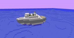 SS Rotterdam Minecraft Map & Project