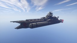 Royal air battlecruiser Minecraft Map & Project