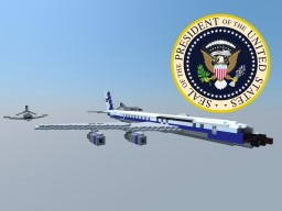 Air Force One (VC-137C) Minecraft