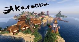 Akaruishima - The Feudal Japanese Island Minecraft Map & Project