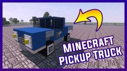 Minecraft Pickup Truck? 1.8 | By Szeski + DOWNLOAD Minecraft