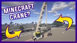 Minecraft Crane 1.8 | By Szeski + DOWNLOAD Minecraft Map & Project