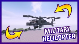 Minecraft Military Helicopter | By Szeski + Download Minecraft Map & Project