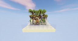 "20x20 Mini-Build ""Beached"" Minecraft Map & Project"