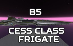 [B5] Cess class Frigate Minecraft Map & Project
