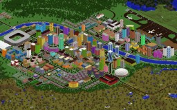 City on the River Minecraft