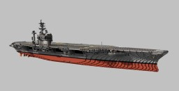 USS Dwight D. Eisenhower (CVN-69)  1:1 scale Minecraft Map & Project