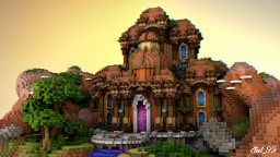 Castle in Heaven Minecraft Map & Project
