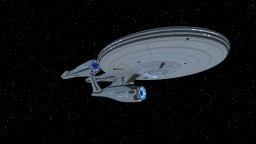 USS Enterprise 2009 Minecraft