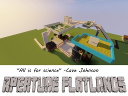 Aperture Flatlands Minecraft Map & Project