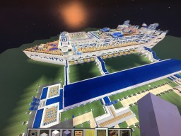 Cruise Ship-Atlantis of the Seas Minecraft Map & Project