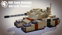 "GDI MBT-6/M&J ""Predator"" Minecraft Map & Project"