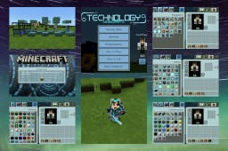 Technology (The future of Minecraft) Minecraft Texture Pack