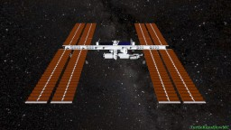 NASA International Space Station Minecraft Map & Project