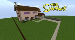 The Simpson's House Minecraft Map & Project