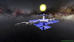 My Custom Space Station Minecraft Map & Project