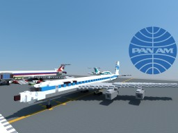 Boeing 707 Pan Am Minecraft