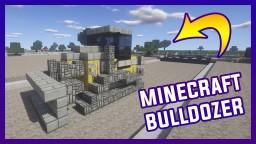 Minecraft  Bulldozer 1.8 | By Szeski + Download Minecraft Map & Project