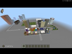 My unnamed city Minecraft Map & Project