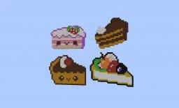 Cakes Pixel Art 🍰 Minecraft Map & Project