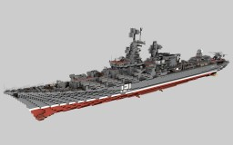 Russian Cruiser Slava 1:1 Minecraft Map & Project