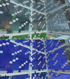 clear water 1.13 snapshots Minecraft Texture Pack