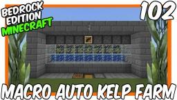 Macro Automatic Kelp Farm Minecraft Map & Project