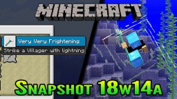 Minecraft Snapshot 18w14a | Phantom Membrane and Slow Falling Potions Minecraft Blog Post