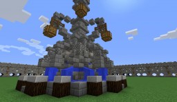 Simple Fountain Minecraft Map & Project