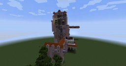 Walt Disney World - Hollywood Studios - Tower of Terror Minecraft Map & Project