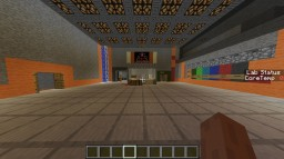 Lab (with working meltdown and nuclear reactor core) Minecraft Map & Project