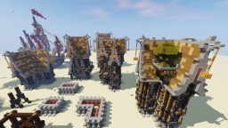 Map SteamPunK Test + DOWNLOAD Minecraft