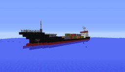 Montenegrin Container Ship Minecraft Map & Project