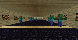 Whack-A-Zombie Minecraft Map & Project