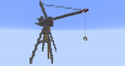 Stationery Dockside Crane Minecraft Map & Project