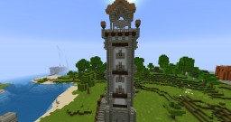 Medieval Lighthouse Minecraft Map & Project