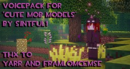 SOUND PACK - CUTE MOB MODELS (FEMALE MOB VOICES) Minecraft
