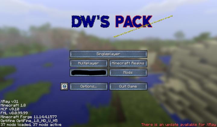 Popular Texture Pack : DWPack