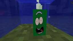 [1.13] PICKLE RICK (SEA PICKLE) Minecraft
