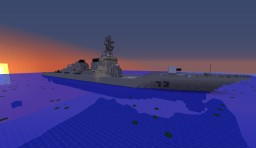 USS Decatur DDG-73 Minecraft Map & Project