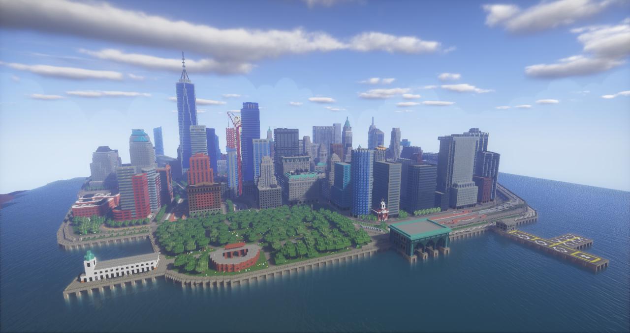 Minecraft New York Map Download